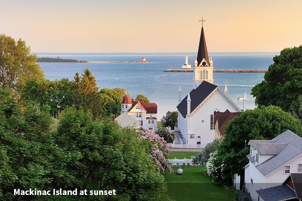 Mackinac Island is a Natinonal Historic Landmark